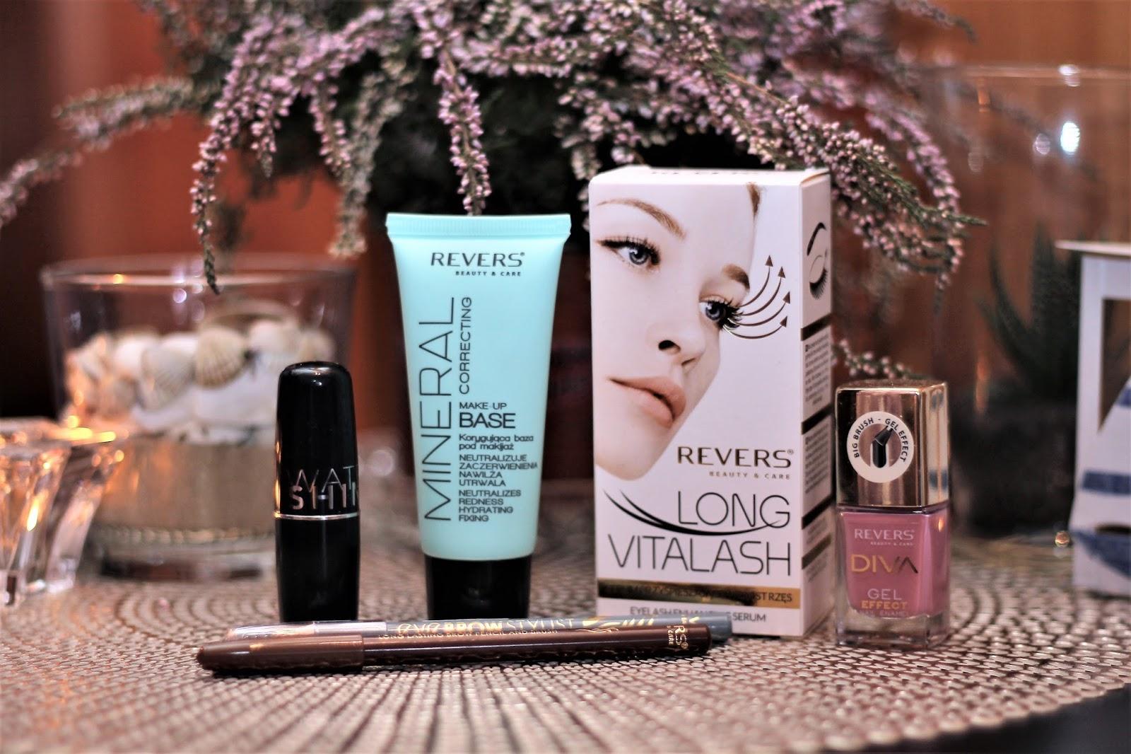Makijaż i pielęgnacja z Revers
