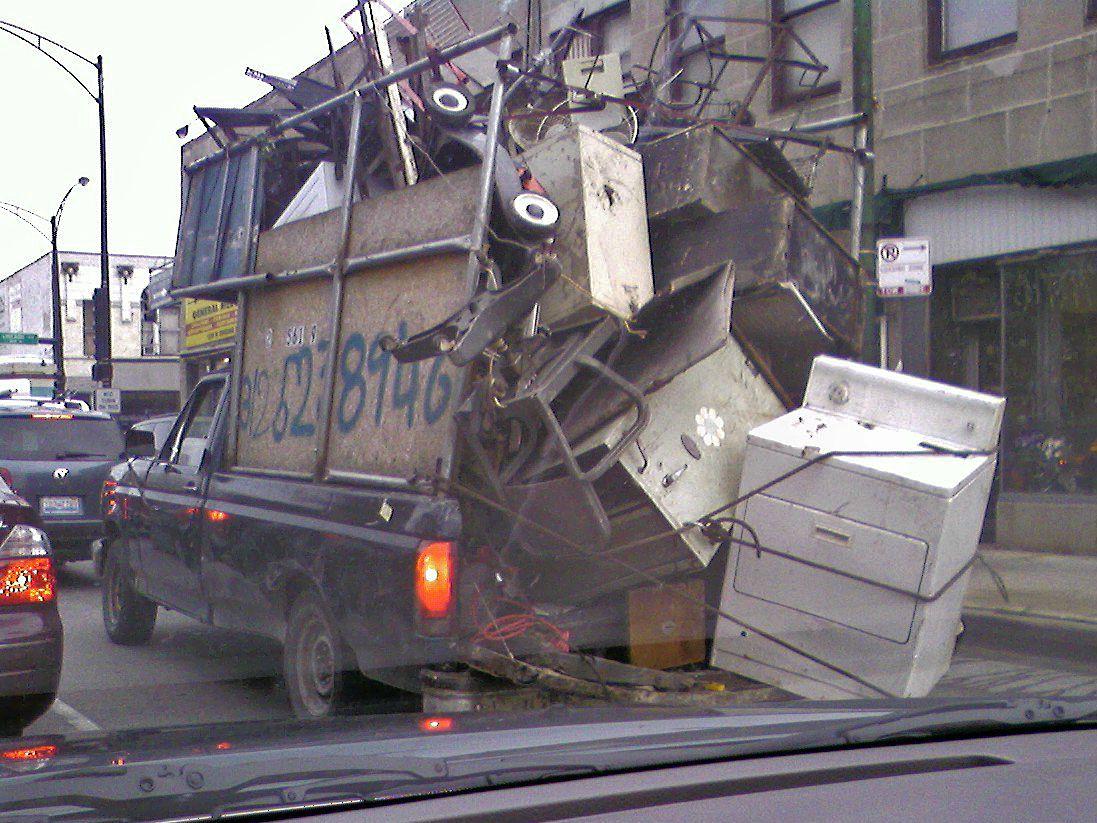 Scrap Metal Pick Up >> The Virtual Sink Scrap Metal Pickup Truck