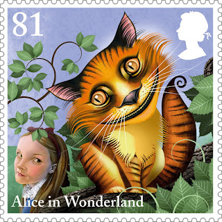 Reino Unido - Filatelia - 2015 - Alice in Wonderland 05