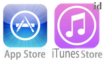 รับสมัคร Apple ID App Store iTunes Store None Credit เลือกประเทศได้
