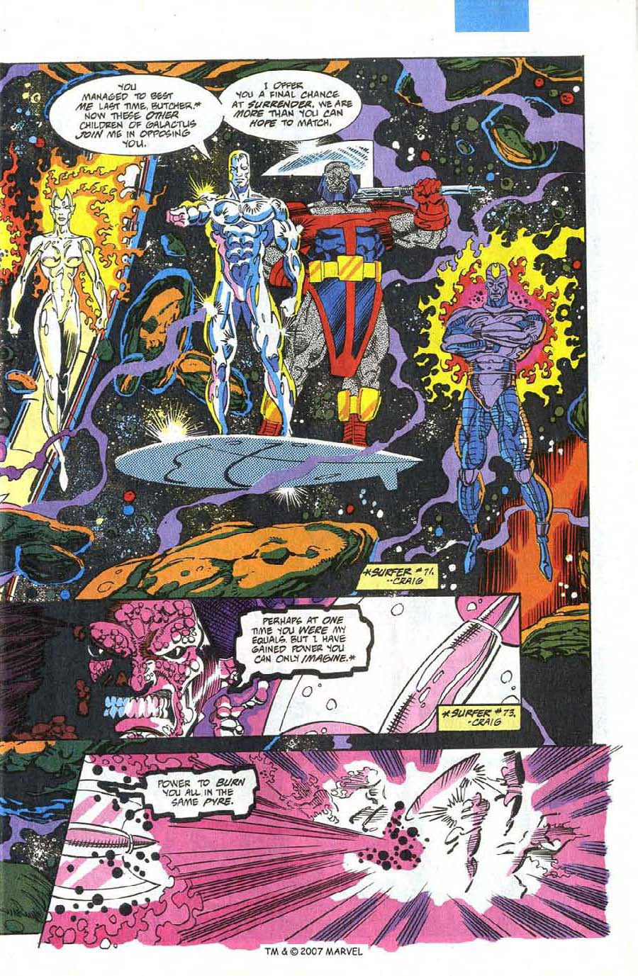 Read online Silver Surfer (1987) comic -  Issue #75 - 7
