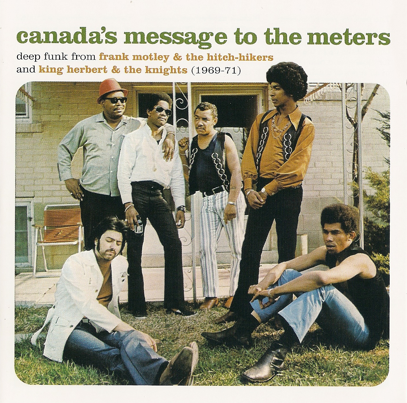 maritime vinyl cd review canada 39 s message to the meters the best of frank motley king. Black Bedroom Furniture Sets. Home Design Ideas