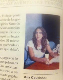 Ana Coutinho. Comunidad Jerusalén. Revista Tres. Antelo