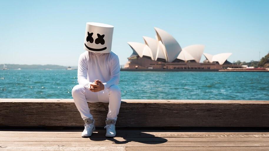 DJ Marshmello, 4K, #4.672