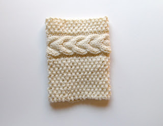 Lewis Knits: Grace Cable Boot Cuffs