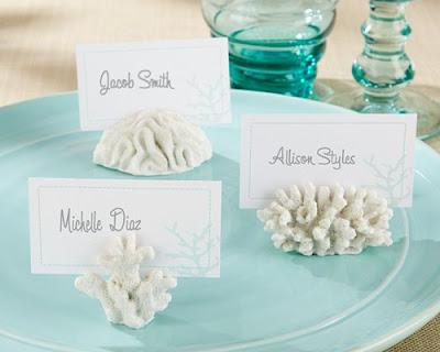 Summer Wedding Escort Card Ideas