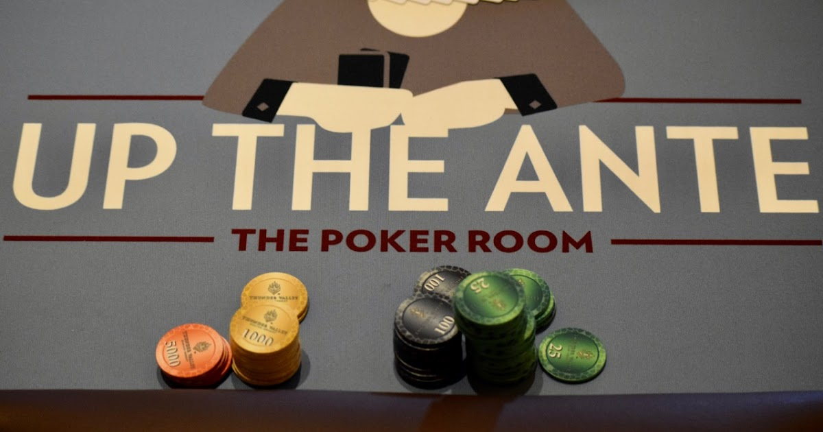 The Poker Room At Thunder Valley Casino Resort Lincoln