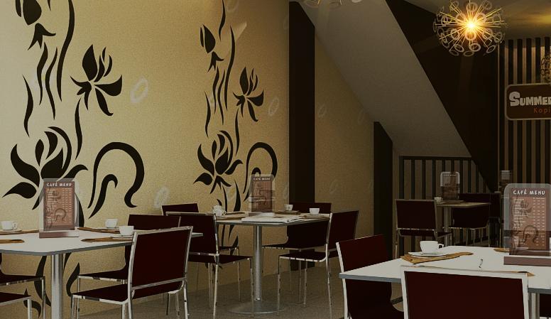 JASA INTERIOR 3D MURAH  Jasa desain  coffee shop design