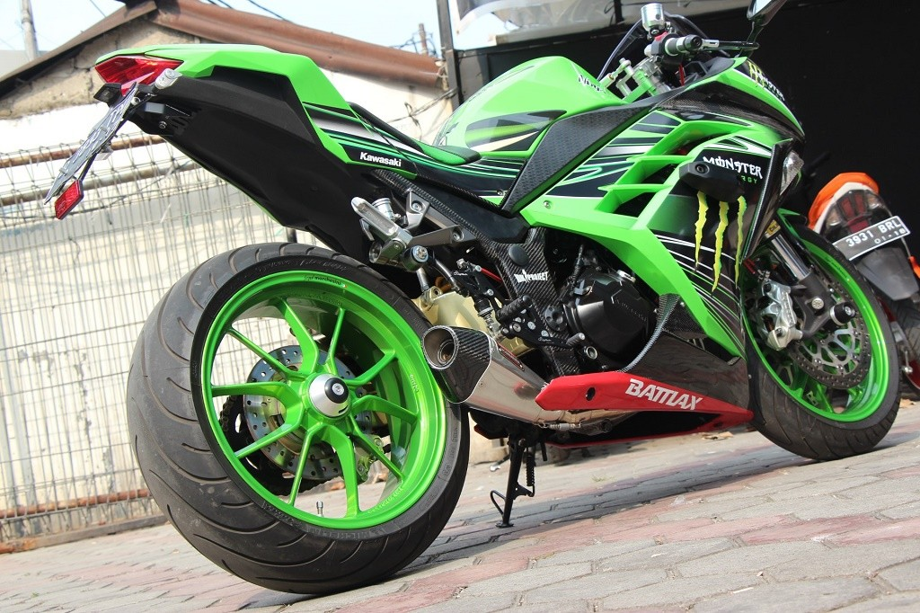 Modifikasi Motor Ninja