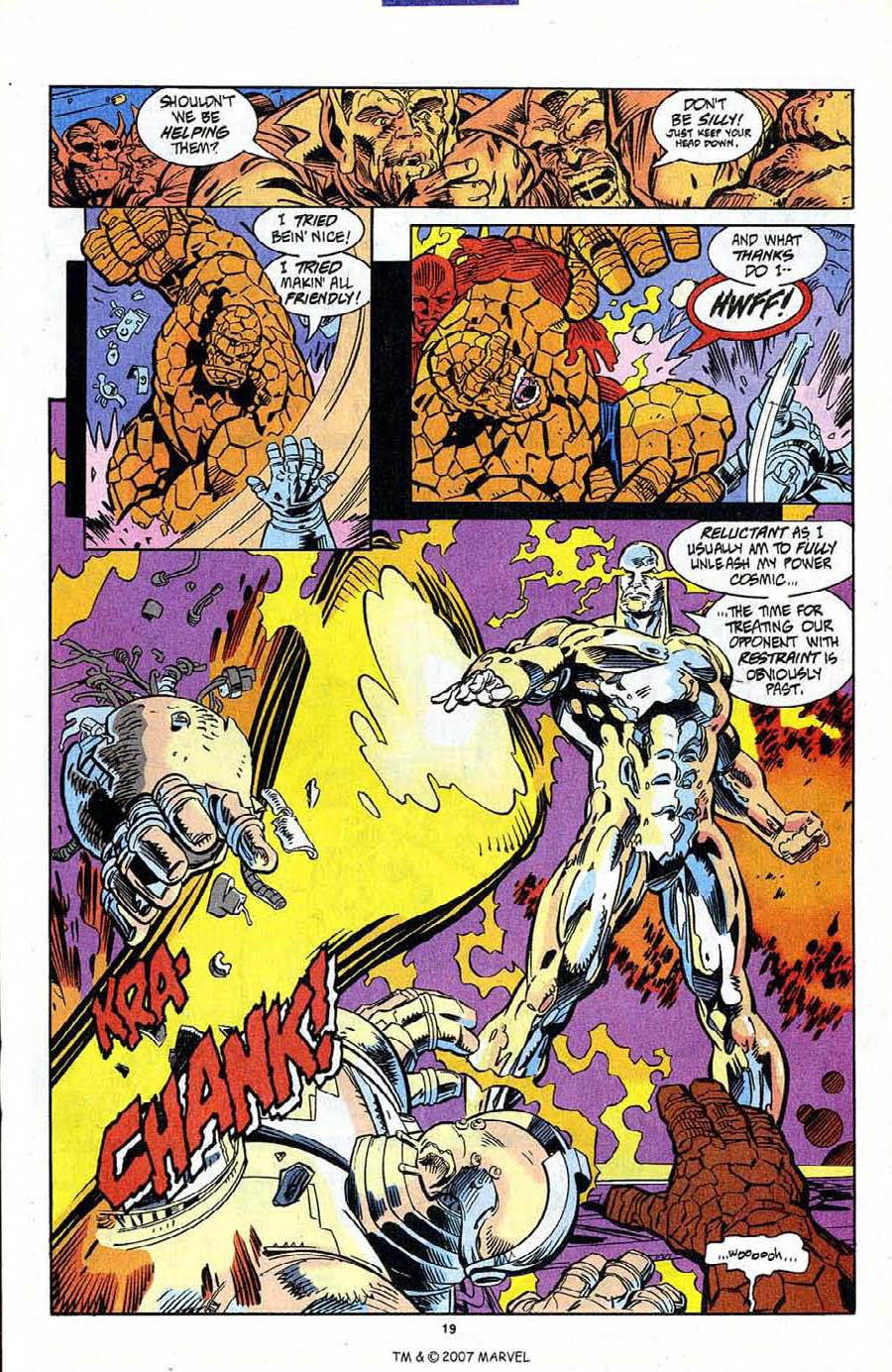 Read online Silver Surfer (1987) comic -  Issue #95 - 21