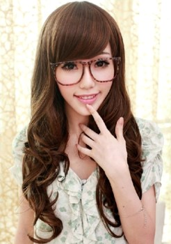Model rambut panjang ala artis Korea