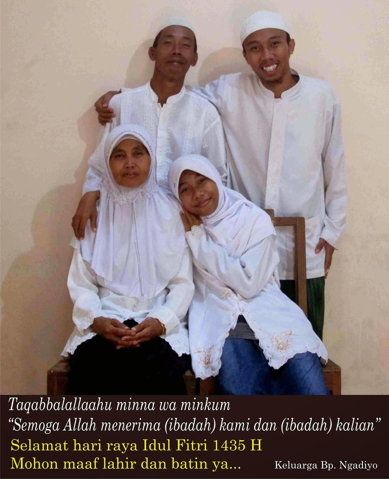 Makna Idul Fitri Bagi Keluarga Kami - Janu Muhammad