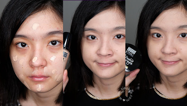 Review PAC Studio Coverage Primer, Review PAC Studio Coverage Foundation, Review PAC Studio Coverage Loose Powder, Review PAC makeup, Review PAC foundation, Review PAC makeup base, Review PAC face primer, Review PAC loose powder, Review PAC bedak tabur, Bedak tabur terbaik, foundation lokal terbaik, face primer terbaik, Xiao Vee, Shelviana Handoko, PAC before after, PAC foundation before after