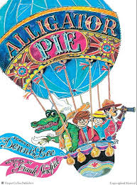 Alligator Pie book of poetry by Dennis Lee