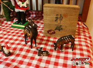 奈良土産の鹿