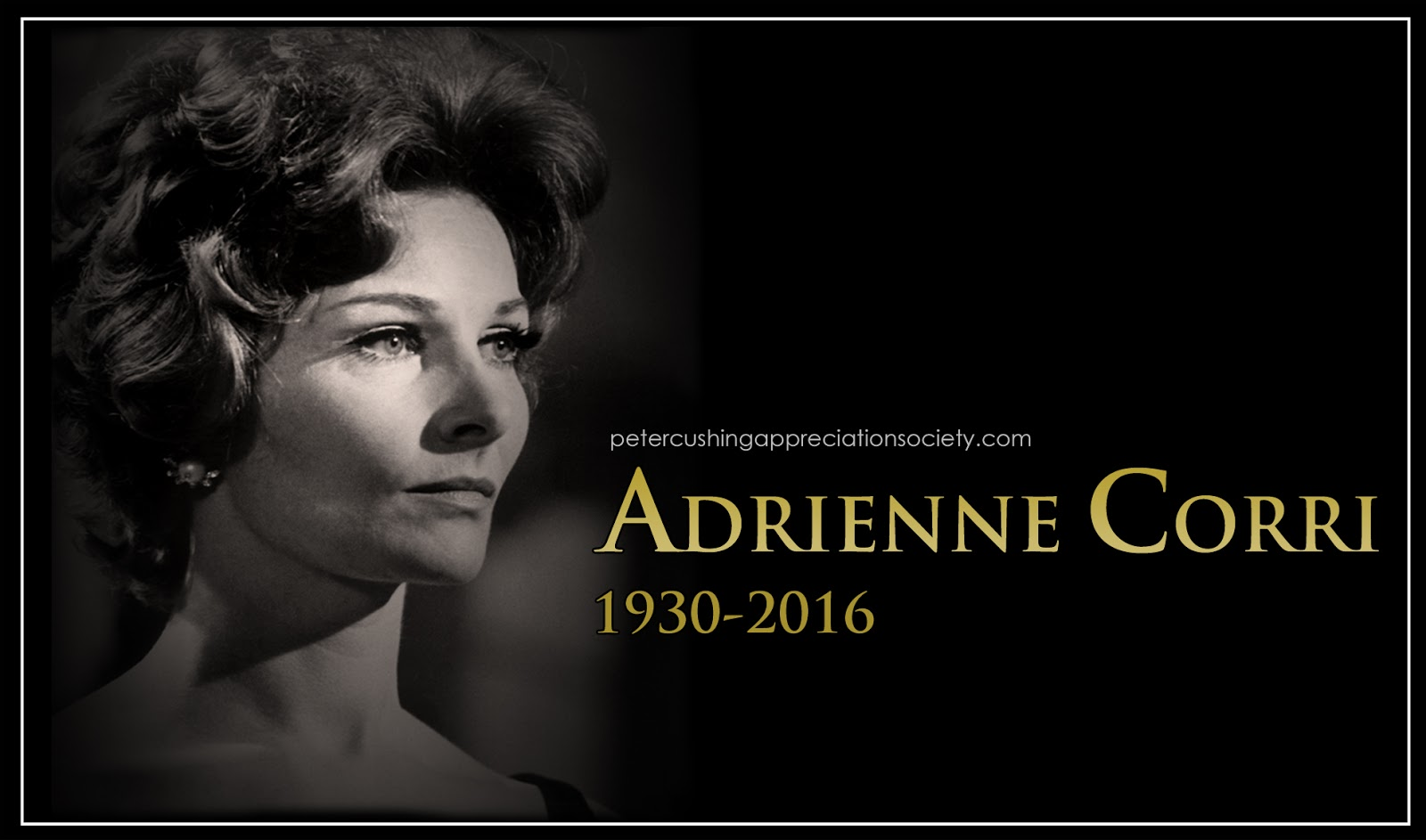 Petercushingblog Blogspot Com Pcasuk Adrienne Corri Dies Today