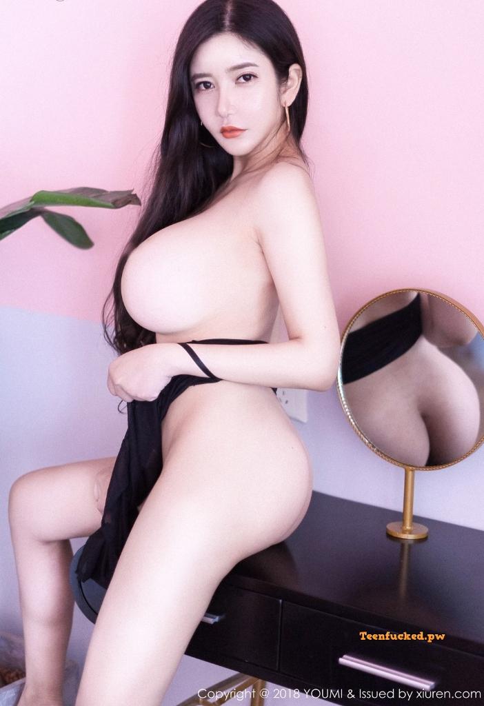 YouMi Vol.222 MrCong.com 008 wm - YouMi Vol.222: Người mẫu 心妍小公主 (45 ảnh)
