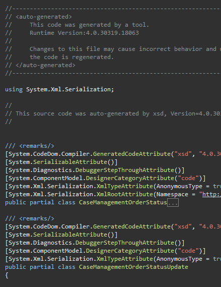 tech sunnyw  Net: Xml Deserialization with Namespace Prefix in C#