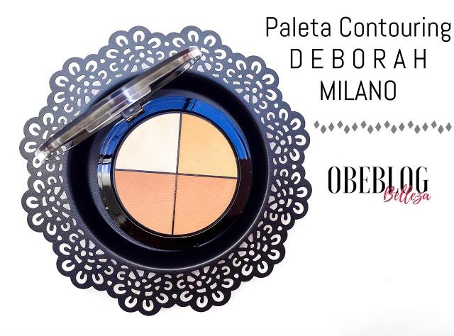 Paleta_Contouring_Deborah_Milano_ObeBlog