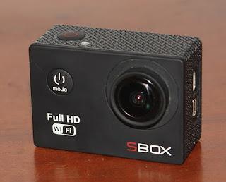 Jual Actioncam Sbox FullHD Wifi Bekas
