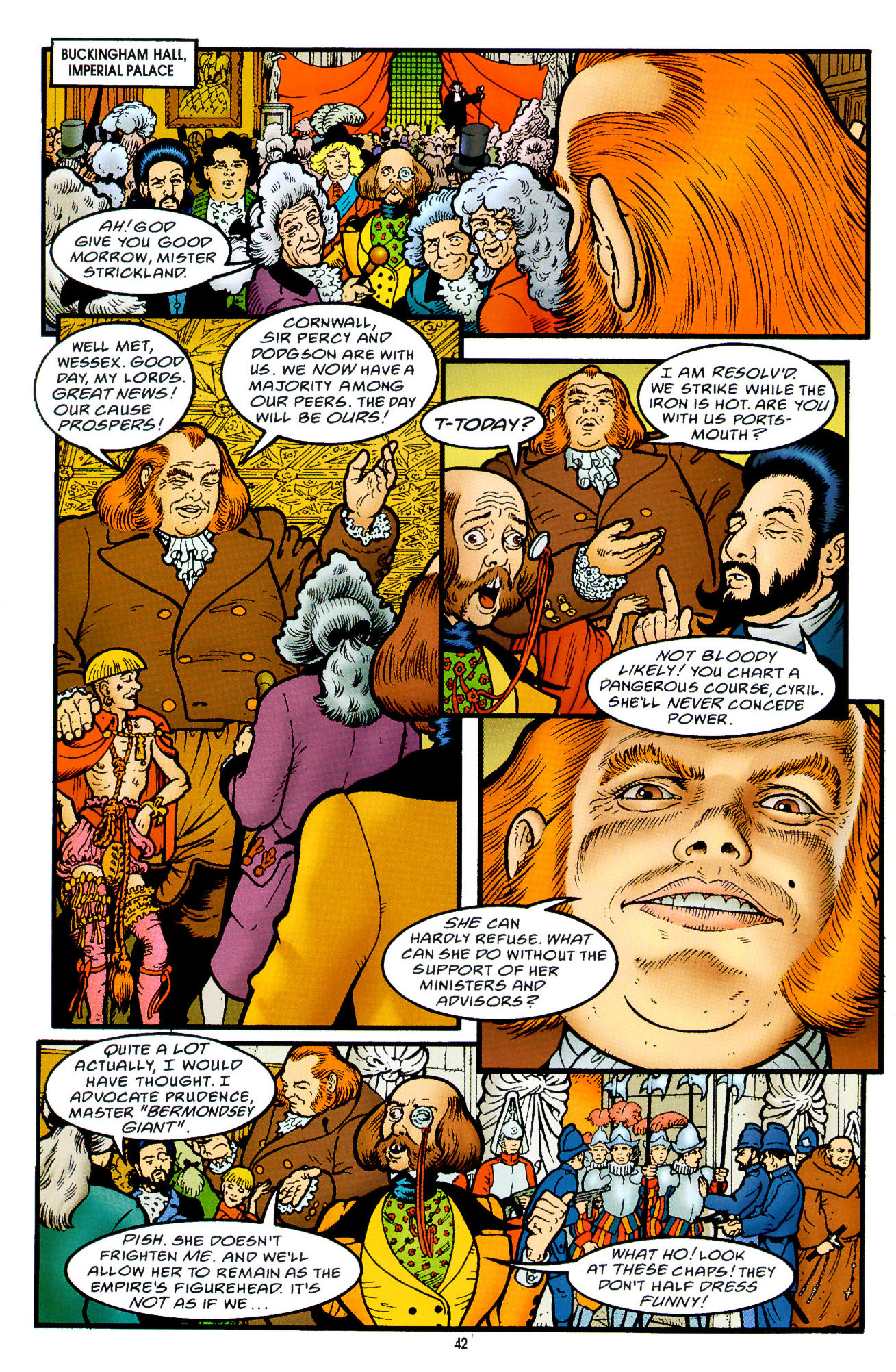 Read online Heart of Empire comic -  Issue #2 - 10