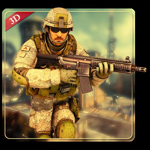 تحميل لعبة Military Commando Shooter 3D v2.3.2 مهكرة للاندرويد نقود لا نهاية