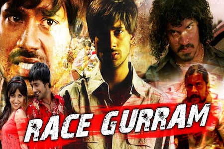 Race Gurram 2018 Hindi Dubbed 480p HDRip 300mb