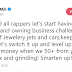 'Let's start having a property and owning business challenge instead of Jewelry, jets and cars in 2019' - Meek Mill tells fellow rappers