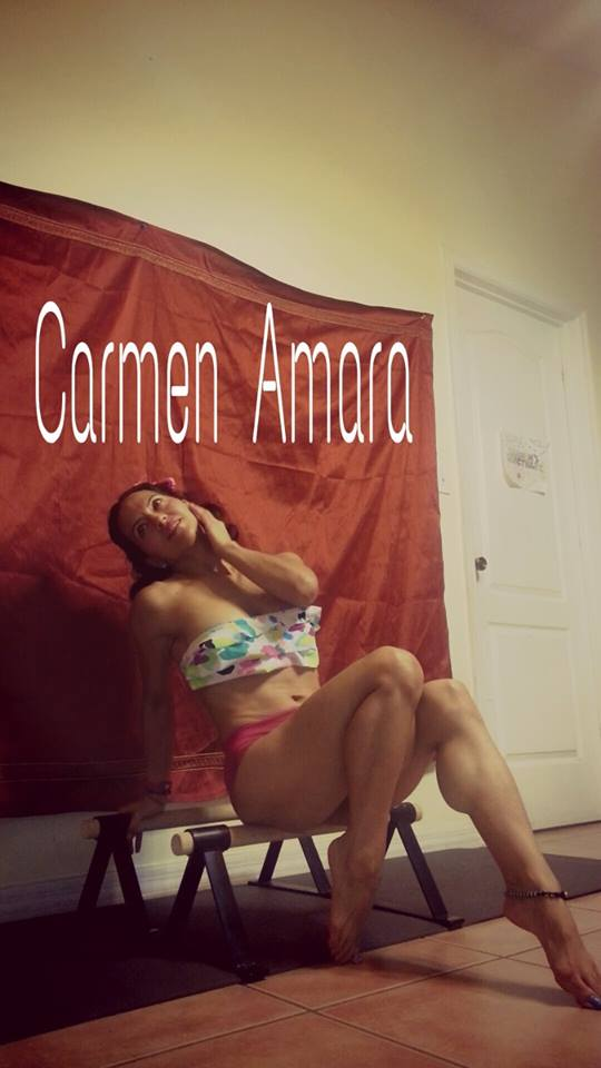 carmen amara naked feet and strong calves