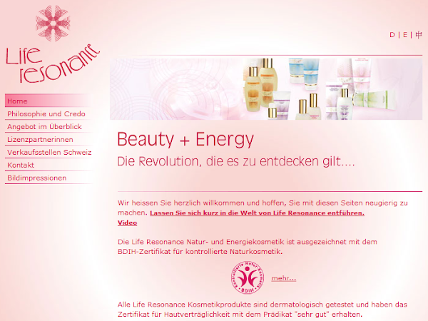 Life Resonance: Beauty & Energie