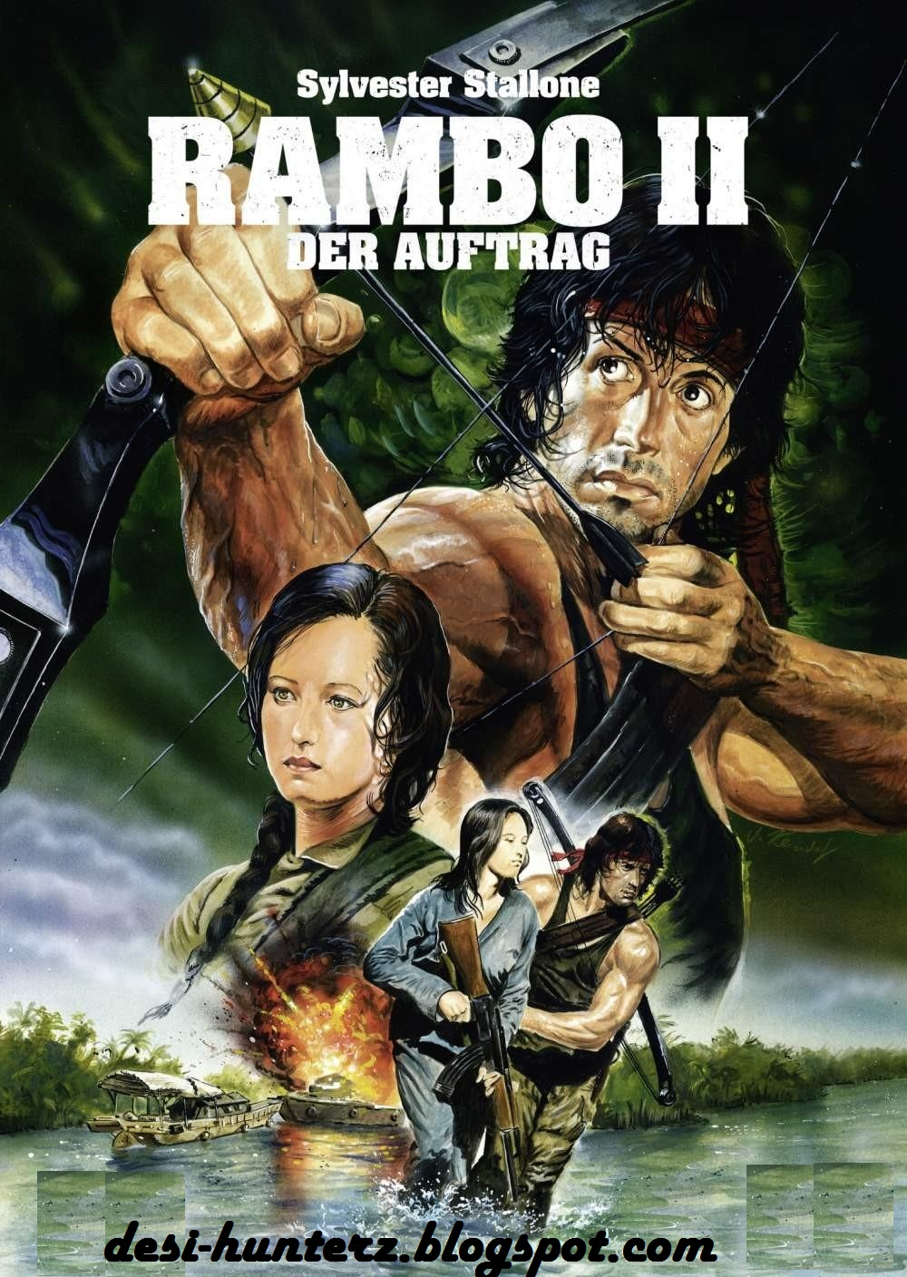 DESIHUNTERZ: RAMBO FIRST BLOOD PART 2 1985 FREE DOWNLOAD ...