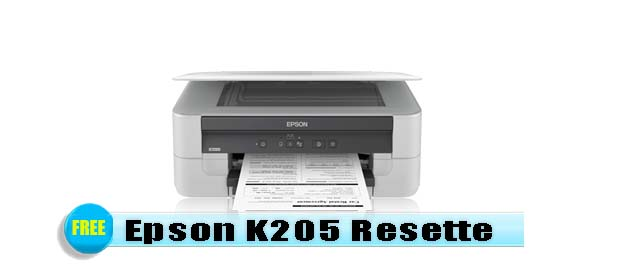 Epson K205 Adjustment Program