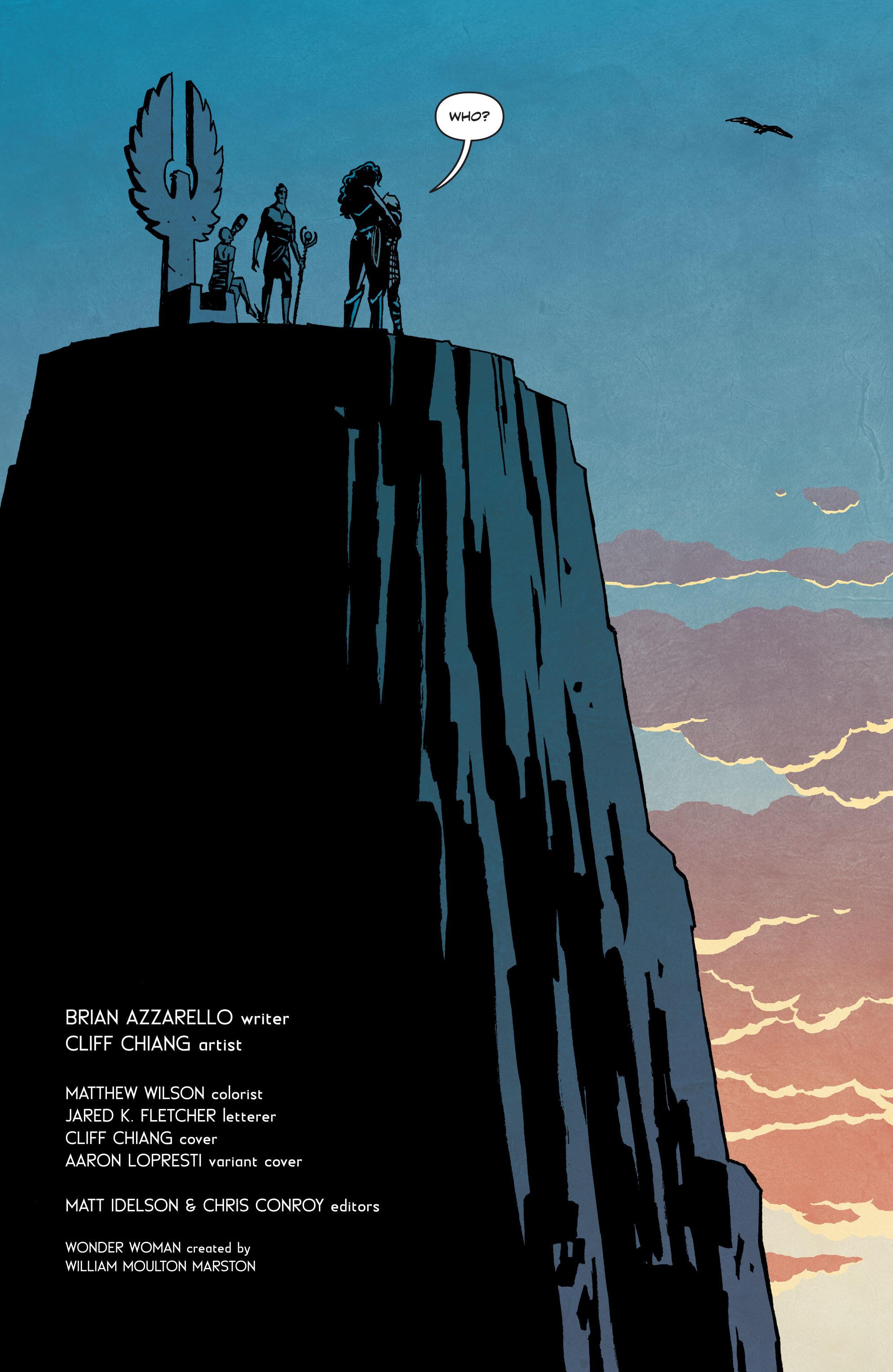 Read online Wonder Woman (2011) comic -  Issue #35 - 22