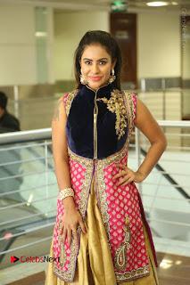 Telugu Actress Sri Reddy Mallidi Stills in White Beautiful Dress at Marriage Needs Bridal Fashion Week 2017 Logo Launch  0159.JPG