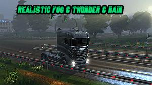 Sounds Realistic Fog & Thunder and Rain v3