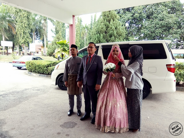 Wedding Cyra Sanusi