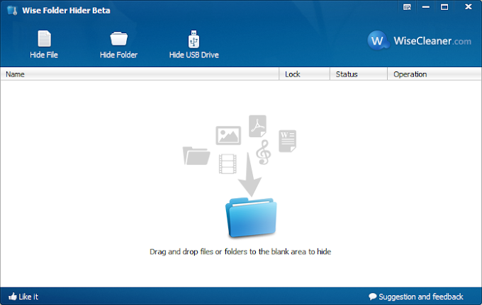 Wise Folder Hider 4.2.6 - Κρύψτε αρχεία και φακέλους με κωδικό
