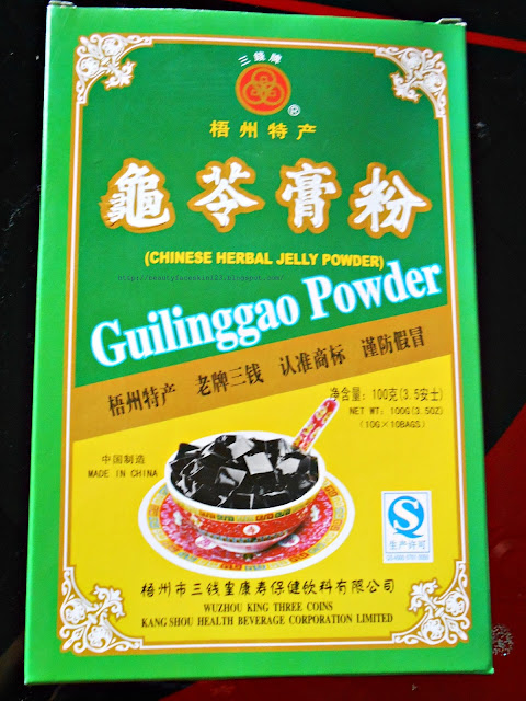 Guilinggao chinese herbal jelly powder