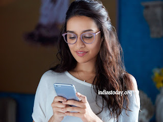 Shraddha Kapoor looking cute and innocent.