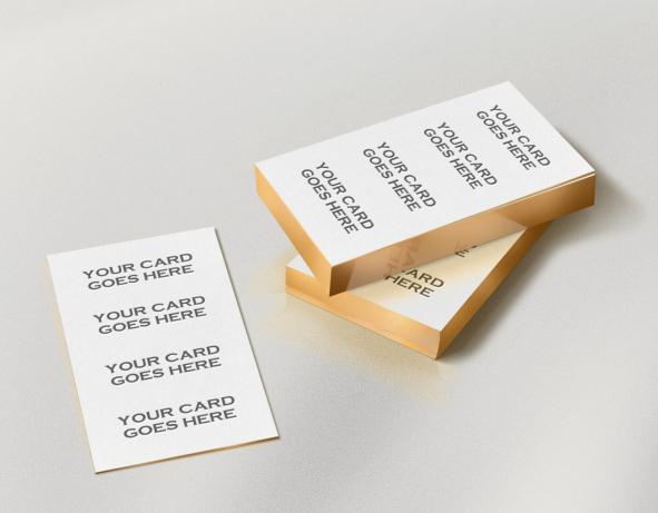 mockups de tarjeta de visita