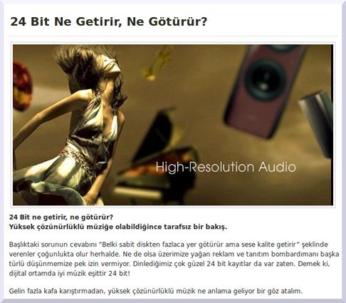 stereomecmuasi.com    24-bit ne getirir, ne goturur?