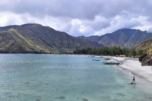 Nagsasa Cove Pristine water