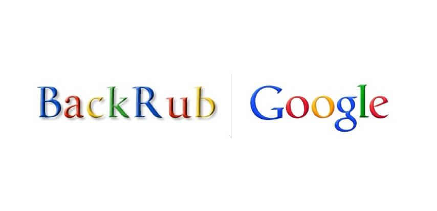 BackRub sebelum Google