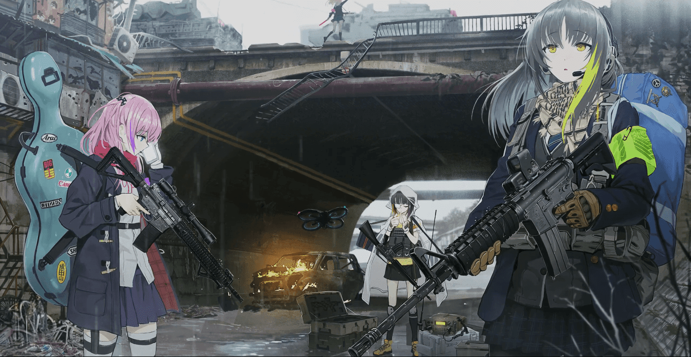 Girls' Frontline 少女前线 SQUAD AR 2K 30fps [Wallpaper Engine Anime]