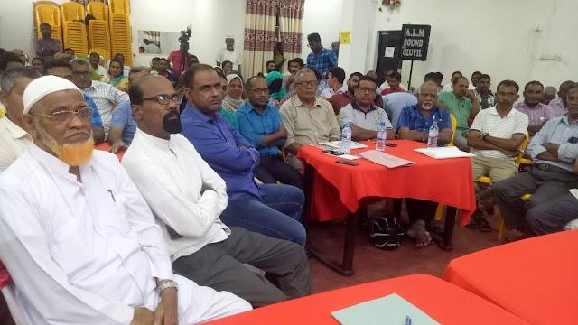 உள்ளூராட்சி மன்ற உறுப்பினர்கள் , ஊடகவியலாளர்கள் ஆண்டிறுதி நிகழ்வு