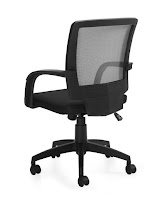 Office Chair 10900B - Back View