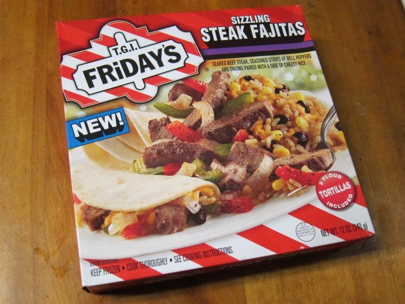 Frozen steak strips