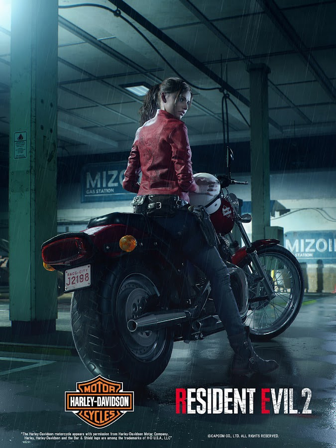 resident evil 2 remake claire redfield raccoon city