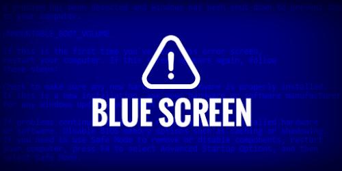 حل مشكلة الشاشة الزرقاء لجميع نسخ ويندوز