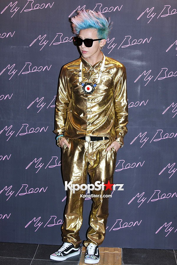 Oddness Weirdness  G-Dragon Blings It Out Like A Pimp At The Ambush ... fa5615984